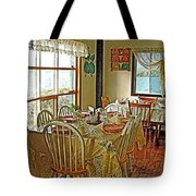 Bed And Breakfast Over The Water At Fishing Point In Saint Anthony-nl Tote Bag