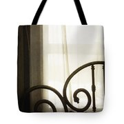 Bed By The Window Tote Bag