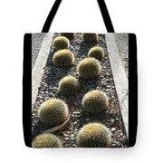 Bed Of Barrel Cacti  Tote Bag