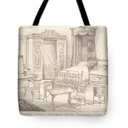 Bedchamber Furniture In The Japanese Tote Bag
