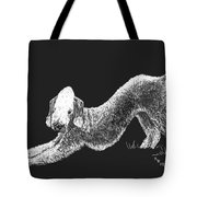 Bedlington Terrier Tote Bag