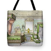 Bedroom In The Renaissance Style Tote Bag