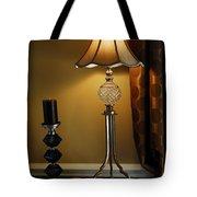 Bedroom Lamp Tote Bag