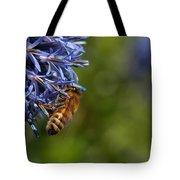 Bee At Work Tote Bag