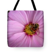 Bee Cosmos Tote Bag