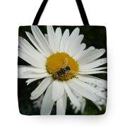 Bee Daisy Tote Bag