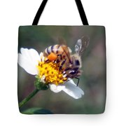 Bee- Extracting Nectar Tote Bag