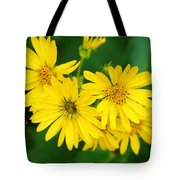 Bee Flower Tote Bag