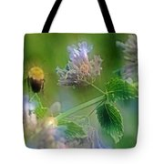 Bee In Catmint Tote Bag