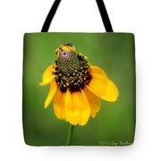 Bee My Coneflower Tote Bag
