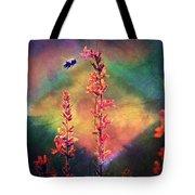 Bee N Wildflowers Diamond Earth Tones Tote Bag