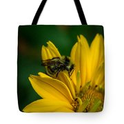 Bee On A Quest Tote Bag