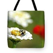 Bee Red-y Tote Bag