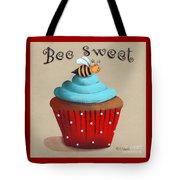 Bee Sweet Cupcake Tote Bag by Catherine Holman