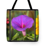 Bee Triptych Tote Bag