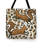 Beechnut Squirrels Tote Bag