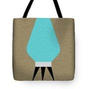 Beehive Lamp Turquoise Tote Bag