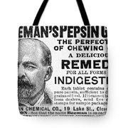 Beemans Pepsin Gum, 1895 Tote Bag