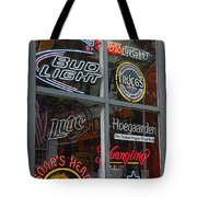 Beer And Boar's Head Tote Bag