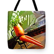 Beer Belly Carrot On A Hot Day Tote Bag by Sarah Loft