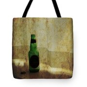 Beer Bottle On Windowsill Tote Bag