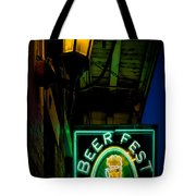 Beer Fest And Lamp Tote Bag