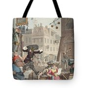 Beer Street, Illustration From Hogarth Tote Bag