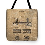 Beer Tap Patent Tote Bag