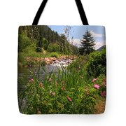 Bees Eye View Tote Bag