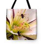 Bees In Blossom Tote Bag