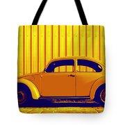 Beetle Pop Gold Tote Bag