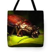 Beetle With Powerful Mandibles Tote Bag
