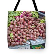 Beets At The Farmers Market Tote Bag