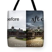 Before And After Tote Bag by Edward Fielding