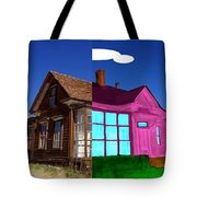 Before And After House Tote Bag