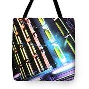 Hot Neon Nights Tote Bag