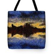 Before Sunset Tote Bag by Ayse Deniz