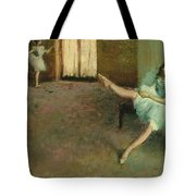 Before The Ballet Tote Bag
