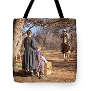 Before The Battle For Socorro Tote Bag