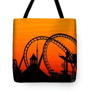 Before The Crowds Tote Bag