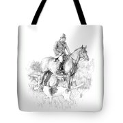 Before The Hunt Tote Bag
