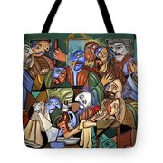 Before The Last Supper Tote Bag