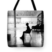 Before The Show Blurred Tote Bag