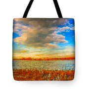 Beginning Again Tote Bag by Julis Simo