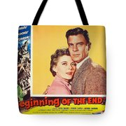Beginning Of The End 1957 Tote Bag