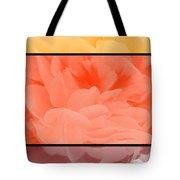 Begonia Petals Triptych Tote Bag
