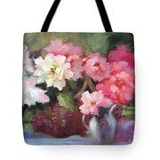 Begonias Tote Bag
