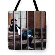 Behind Bars Tote Bag