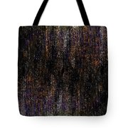 Behind The Curtain Tote Bag by Christopher Gaston