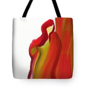 Behind The Curtain Tote Bag